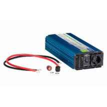 Inverter szinuszos 1000W, 12V/230V