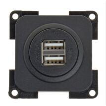 USB dupla töltő aljzat