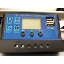 Premium solar töltés vezérlő 30A PWM