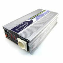 Inteligent Inverter tiszta sinus hullámos 700W/12V
