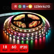 LED szalag beltéri 60 RGBW IP20 magas fényű 5 méter
