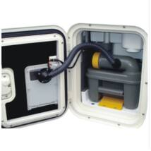 SOG - elektromos 12 V-os WC-szellőzés C2,C3,C4 fehér
