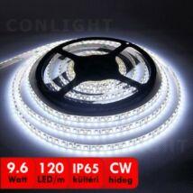 LED szalag kültéri 120 CW IP65 magas fényű 5 méter