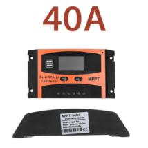 Napelem MPPT töltésvezérlő 40A dupla USB aljzat