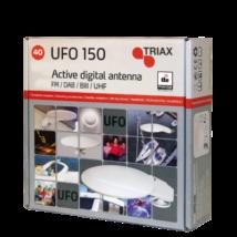 Triax DVBT ufo antenna+tápfeladó