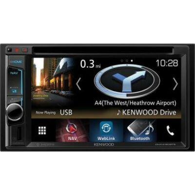 Kenwood 2 DIN fejegység multimédia, GPS, DNX4180BTS