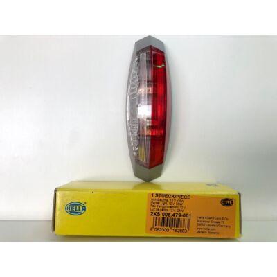 Hella helyzetjelző lámpa piros-fehér