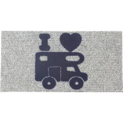 I love camper lakóautós szőnyeg 25x50 cm