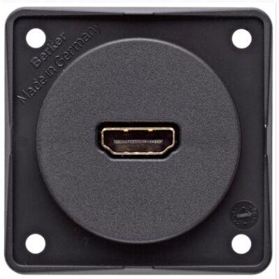 Integro HDMI aljzat antracit