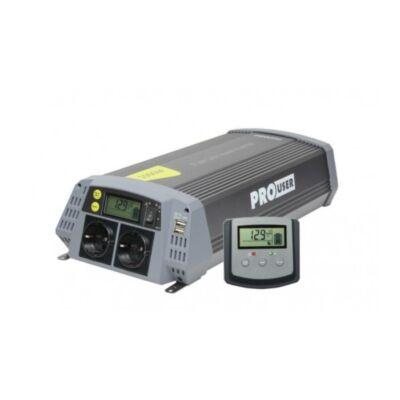 Enduro szinuszos inverter 12V/ 1500W, solarhoz is