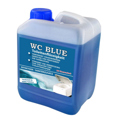 WC vegyszer folyadék kék 2,5L