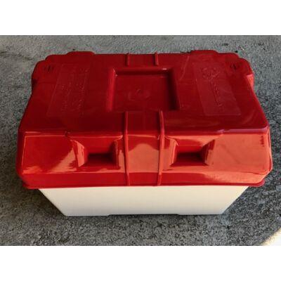 Akkumulátor védő doboz 329x175x225mm