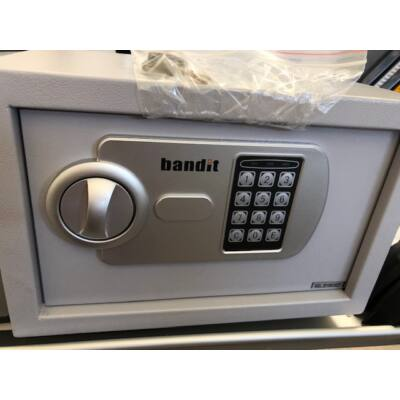 Bandit bútorszéf elektronikus zárral