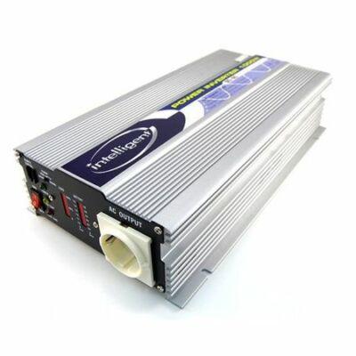 Intelligent Inverter sinus hullámos 1000W/12V