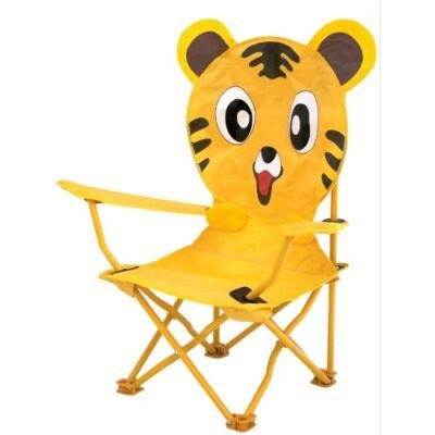 Gyerek kemping szék Tigrises