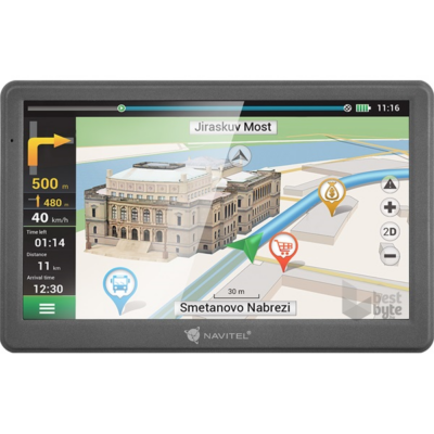 Navitel E700 fejegység, multimédia Navigáció GPS