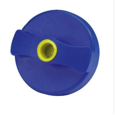 Vízbetöltő kupak kék, fekete, zár nélkül