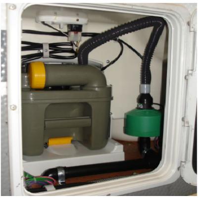 SOG - elektromos 12 V-os WC-szellőzés C200 fehér