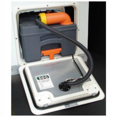SOG - elektromos 12 V-os WC-szellőzés C250,C260 fehér