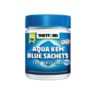 WC vegyszer Aqua Kem blue tasakok 15db/doboz