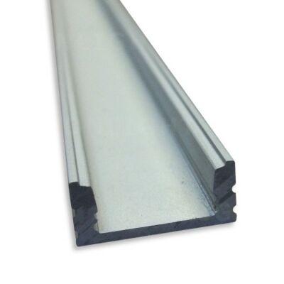LED szalaghoz aluminium profil U alakú 2 méter