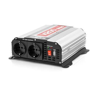 Szinusz inverter 12/230V 600 Watt, V1200 Sinus
