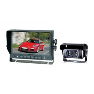 "Tolatókamera szett 7""-os LCD monitorral 12/24V"