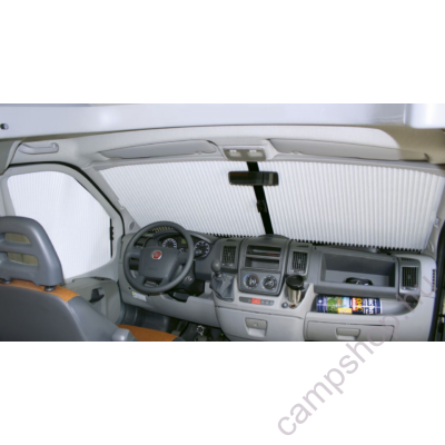 Remis kabinajtó oldalüvegre roló rendszer, bézs szín, Fiat Ducato 2006/07-től, jobb-bal