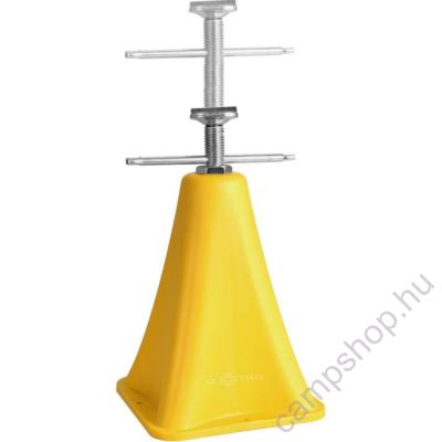 Támasztóláb, bak Power Jack, műanyag, acél kombi, 2 db, 28-42 cm