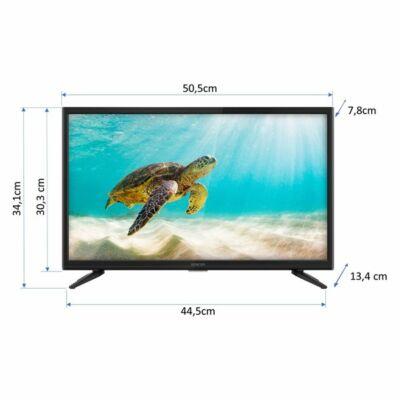 "Sencor 22""-os 12V-os FULL HD LED TV"